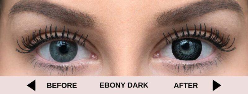 before ebony dark light 5   Elegant Optic