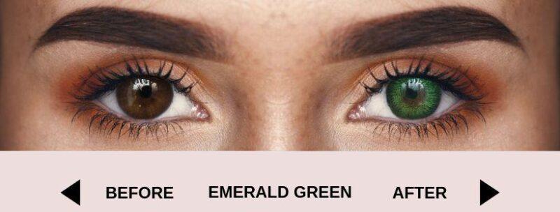 before emerald green dark new 4   Elegant Optic