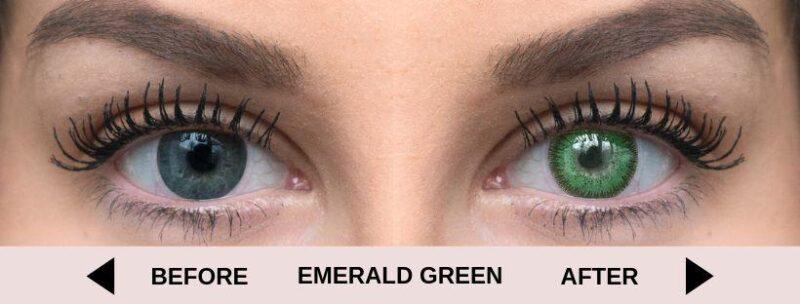 before emerald green light 5   Elegant Optic