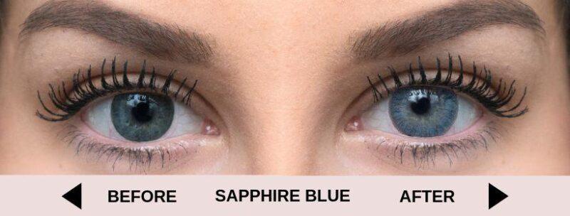 before sapphire blue light 5 | Elegant Optic