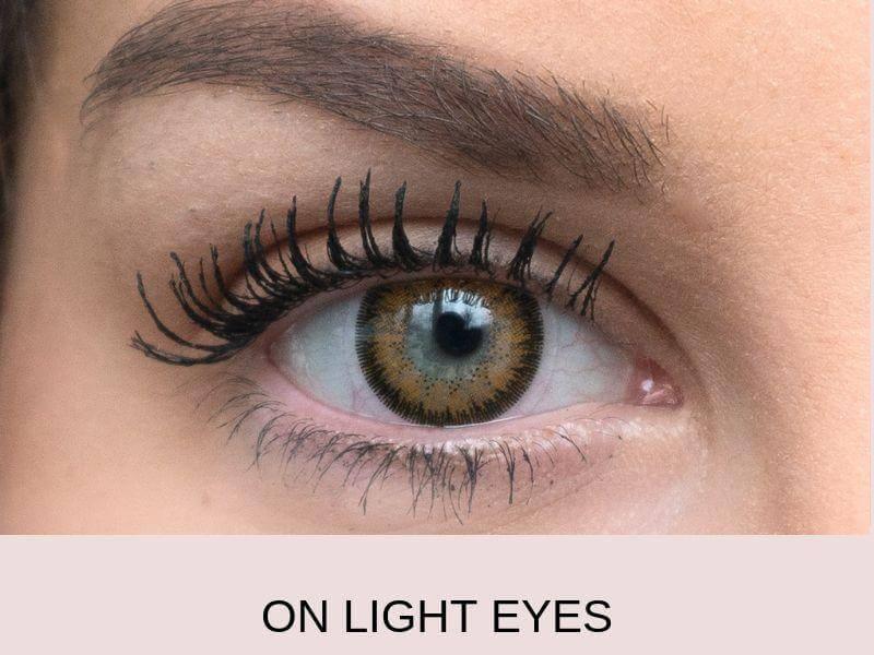 caramel brown light 3   Elegant Optic